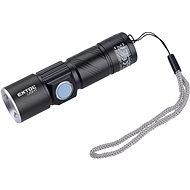 EXTOL LIGHT zseblámpa 150 lm, újratölthető, USB, zoom, XPE 3W LED - Zseblámpa