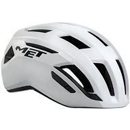 MET VINCI MIPS shaded fényes fehér - Kerékpáros sisak