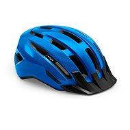 MET DOWNTOWN fényes kék S / M - Kerékpáros sisak