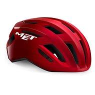 MET VINCI MIPS piros, metálfényű - Kerékpáros sisak