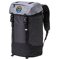 Meatfly Pioneer 4 Backpack Ht. Grey/Ht. Charcoal/Black - Városi hátizsák