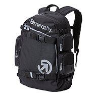 Meatfly Wanderer 5 Backpack Black - Városi hátizsák