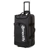 Meatfly Contin 3 Trolley Bag, Heather Charcoal, Black - Bőrönd