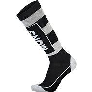 Mons Royale Mons Tech Cushion Sock Black / Grey - Zokni