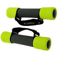 LifeFit PLUS 2 x 1 kg - Kézi súly készlet