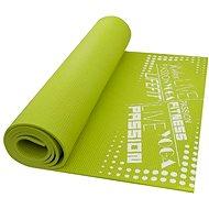Lifefit Slimfit Plus gimnasztikai szőnyeg, könnyű, zöld - Alátét/szőnyeg