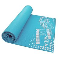Lifefit Slimfit Plus gimnasztikai szőnyeg, könnyű, türkiz - Alátét/szőnyeg