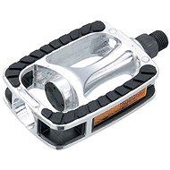 Force Trek kerékpár pedál, alumínium, fekete-ezüst - Pedál