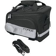 Force Slim fekete bringás táska csomagtartóra, 9 l - Kerékpáros táska