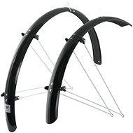Force Aluflex trekking + támaszok, fekete - Bicikli sárvédő
