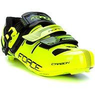 Force Road Carbon - fluo/fekete - Kerékpáros cipő