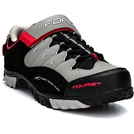 Force Tourist - fekete/szürke/ piros - Kerékpáros cipő