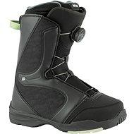 Nitro Flora BOA fekete-menta méret 37 1/3 EU / 240 mm - Snowboard cipő