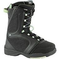 Nitro Flora TLS fekete-menta - Snowboard cipő