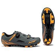 Northwave Origin Plus antracit/narancssárga - Kerékpáros cipő