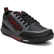 Northwave Clan antracit/piros - Kerékpáros cipő