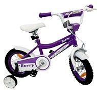"""OLPRAN Berry 12"""", lila / fehér - Gyerek kerékpár"""
