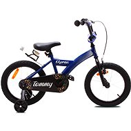 """OLPRAN Tommy 16"""", kék / fekete - Gyerek kerékpár"""