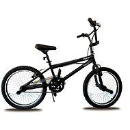 """Olpran BMX, fekete, freestyle 20"""" - Gyerek kerékpár 20"""""""