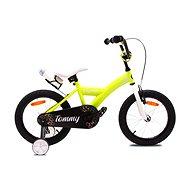 """OLPRAN Tommy 16"""", sárga / fehér - Gyerek kerékpár"""