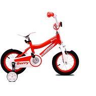 """OLPRAN Berry 12"""", narancs / fehér - Gyerek kerékpár"""