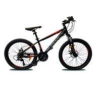 """OLPRAN XC 24"""" full disc fekete/piros - Gyerek kerékpár"""