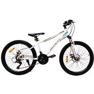 """OLPRAN XC 24"""" fehér/kék - Gyerek kerékpár"""