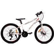 """OLPRAN XC 24"""" fehér/piros - Gyerek kerékpár"""