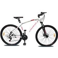 "OLPRAN Player 28"" ALU fehér / piros L - Cross kerékpár"