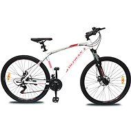 "OLPRAN Player 28"" ALU fehér/piros M - Cross kerékpár"