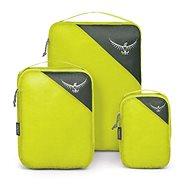 Osprey Ultralight Packing Cube Set, electric lime, S/M/L - Szett