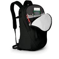 Városi hátizsák Osprey Apogee Black