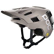 Kerékpáros sisak POC Kortal Race MIPS Moonstone Grey/Uranium Black Matt