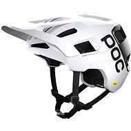 Kerékpáros sisak POC Kortal Race MIPS Hydrogen White/Uranium Black Matt