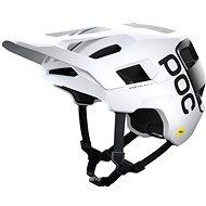 POC Kortal Race MIPS Hydrogen White/Uranium Black Matt XLX - Kerékpáros sisak