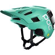Kerékpáros sisak POC Kortal Race MIPS Fluorite Green/Uranium Black Matt