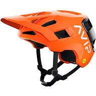 Kerékpáros sisak POC Kortal Race MIPS Fluorescent Orange AVIP/Uranium Black Matt