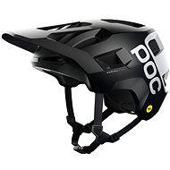 Kerékpáros sisak POC Kortal Race MIPS Black Matt/Hydrogen White
