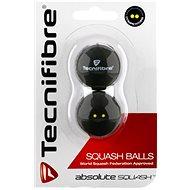 Tecnifibre squash labda két sárga pontos - Squash labda