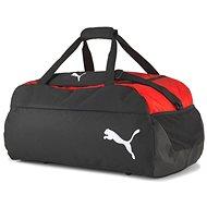 Puma teamFINAL 21 Teambag M, piros-fekete - Sporttáska