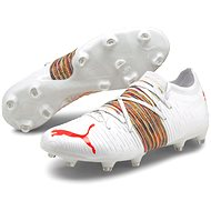 Puma Future Z 2.1 FG AG fehér - piros - Futballcipő