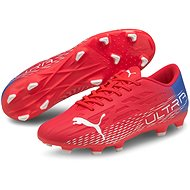 PUMA_ULTRA 4.3 FG AG piros / fehér - Futballcipő