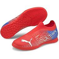 PUMA_ULTRA 3.3 IT Jr piros / fehér - Futballcipő