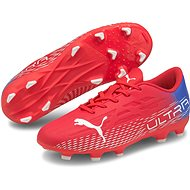 PUMA_ULTRA 4.3 FG AG Jr piros / fehér - Futballcipő