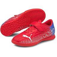 PUMA_ULTRA 4.3 IT V Jr piros / fehér - Futballcipő