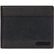 Quiksilver Sypply Slim Trifold Wallet, fekete - Férfi pénztárca