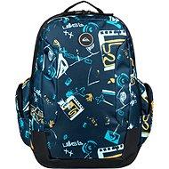 Quiksilver Schoolie M Backpack BYJ6 - Hátizsák