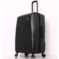 MIA TORO M1713/3-L utazóbőrönd - fekete - TSA záras bőrönd