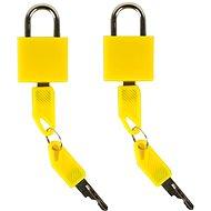 Rock 2db TA-0009 - Sárga - Bőröndzár