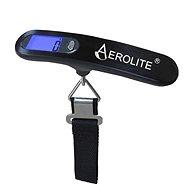AEROLITE LS022R - Fekete - Bőröndmérleg